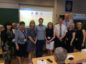 С коллегами на конференции в университет в г. Баня Лука (Республика Сербская, 2017 г.)