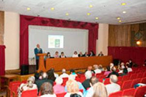 Участники конференции «Космос и биосфера», Крым, Алушта, 2011 г.