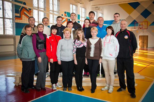 Преподаватели кафедры спорта и физического воспитания