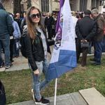 Географический факультет принял участие в митинге «Вместе против террора»