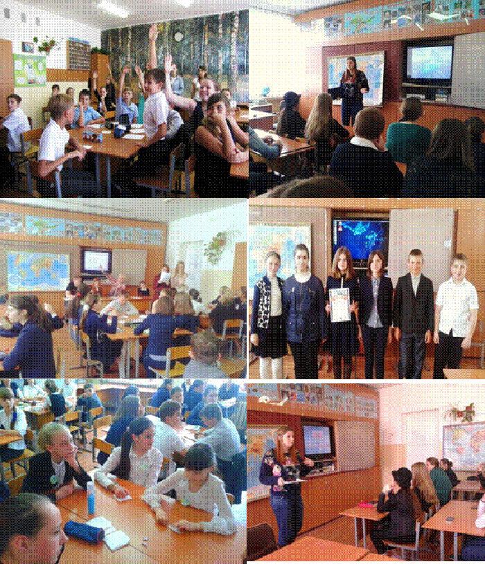 ПРОЕКТ - Популяризация экологических знаний среди школьной молодежи.